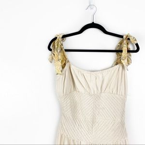 Free People | Ivory Strappy Maxi Dress